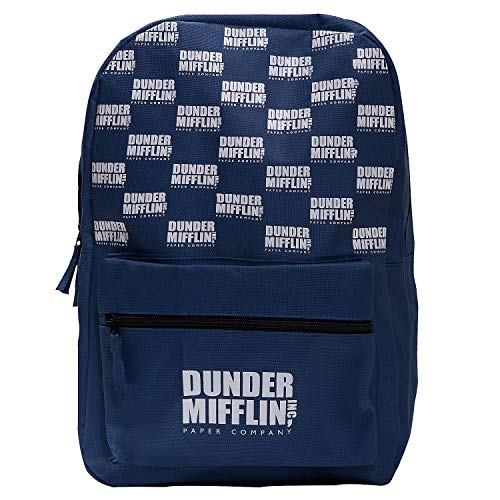 The Office Dunder Mifflin Paper Company Official Company Logo School Backpack