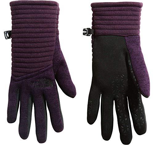 The North Face Women's Indi Etip Gloves (Galaxy Purple Heather, Medium)