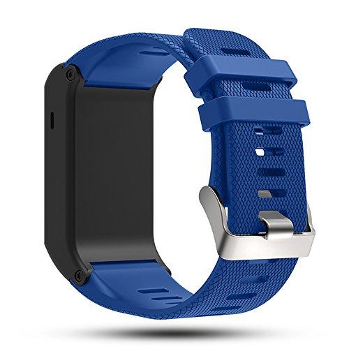 Für Garmin vivoactive HR Sport GPS-Smartwatch Uhr Ersatz Band - iFeeker Zubehör Einstellbare Weiche Silikon Ersatz Armbanduhr Armband für Garmin vivoactive HR Sport GPS-Smartwatch Uhr