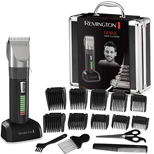 Remington HC5810 Pro Advanced Ceramic - Cortapelos, indicador LED, 40...