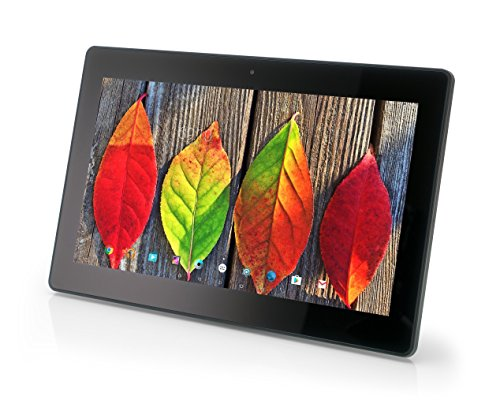 Xoro MegaPAD 1404 V2 35,56 cm (14 Zoll) Tablet-PC (QuadCore Cortex A17 1.8GHz, 2GB RAM, 16GB Flashspeicher, IPS 1920x1080, WLAN (2.4/5GHz), Bluetooth 4.0, Android 5.1, 12V DC ohne Akku) schwarz
