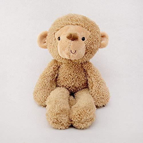 Knuffels voor schattige dieren voor kinderen, poppen, verjaardagscadeautjes 40 cm Kaki aapje