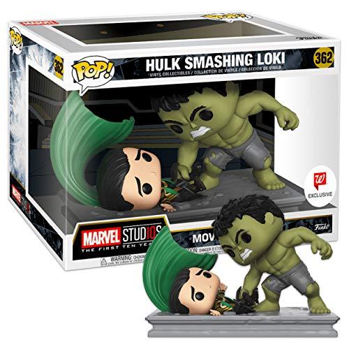 Funko - Marvel Movie Moments-Hulk Smashing Loki Figurina, Multicolor, 34883