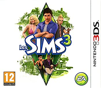 Les SIMS 3 for Nintendo 3DS game EURO