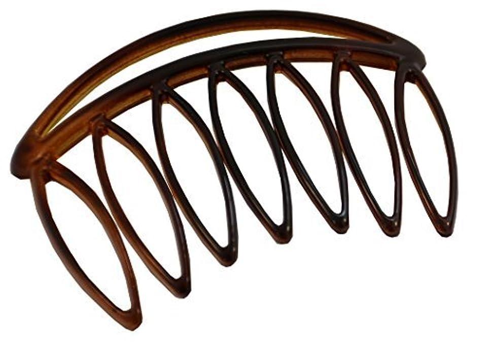 フォーム練習した言い聞かせるParcelona French Swift Large 7 Teeth Celluloid Shell Side Hair Combs (2 Pcs) [並行輸入品]