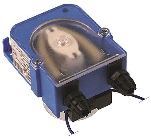 MICRODOS MP3 Dosiergerät für Spülmaschine für Reiniger 1,5l/h Schlauchanschluss ø 4x6mm 24V Befestigung horizontal/vertikal