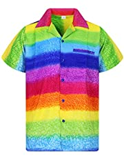 V.H.O. Funky Hawaiian Shirt   Men   XS-12XL   Short-Sleeve  