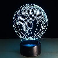 キッズランプ用の3DイリュージョンランプLEDナイトライトおもちゃ年齢2-6歳4-8歳の男の子への贈り物
