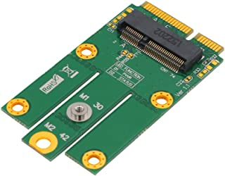SUPERPLUS M.2 (NGFF KEY E) to MPCIe (PCIe+USB) Adapter