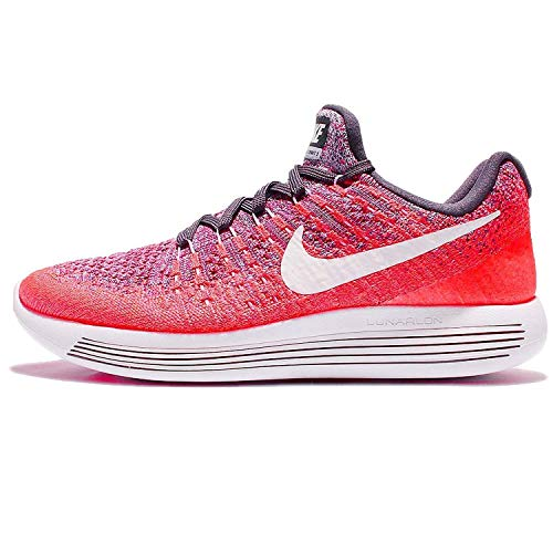NIKE Women's Lunarepic Low Flyknit 2 Running Shoe (6.5, Dark