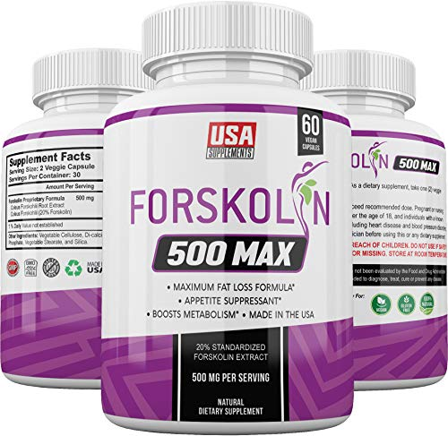 Pure Forskolin Extract Capsules