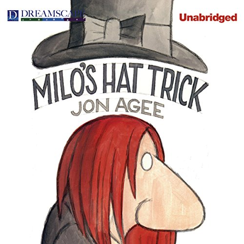 Milo's Hat Trick audiobook cover art