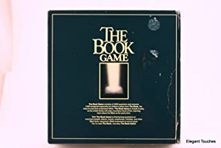 THE BOOK GAME~BIBLE TRIVIA BOARD GAME