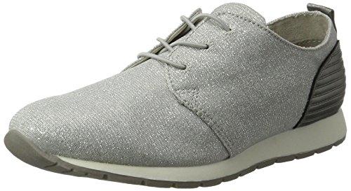TOM TAILOR Damen 2794102 Sneaker, Silber (Silver), 41 EU