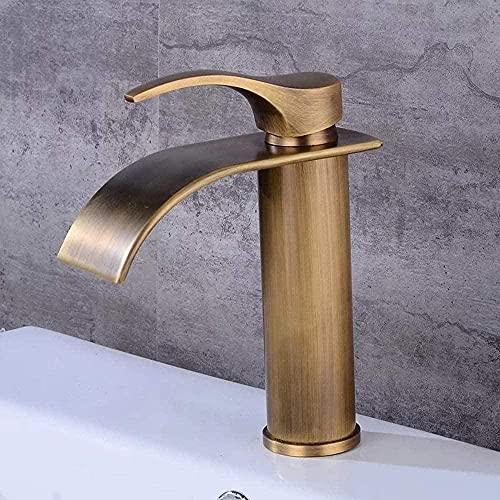 Nuevo y viejo estilo europeo escala exportación hogar hotel estilo europeo oro cobre antiguo fregadero grifo