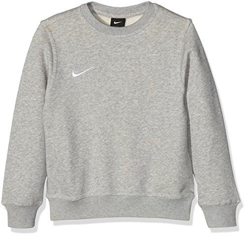 Nike Yth Team Club Crew - Sudadera para niño, Gris (Grey Heather/Football White), S (128 - 137 cm/8-10 años)