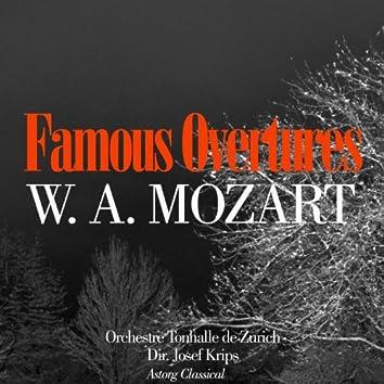Mozart : Ouvertures