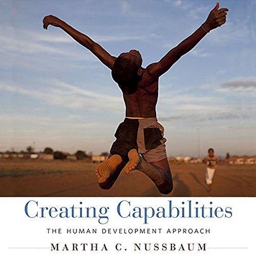 Creating Capabilities audiobook cover art