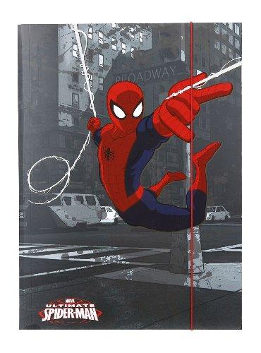Undercover SP13029 - Gummizugmappe A3 Disney Spiderman