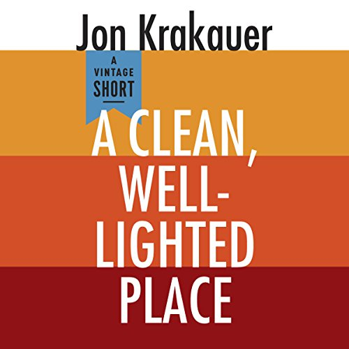A Clean, Well-Lighted Place audiobook cover art