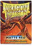 Dragon Shield Standard Sleeves (Matte Red)