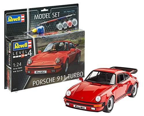 Revell 67179 12 Modellbausatz Porsche 911 Turbo Im Maßstab 1, 1:24 Scale