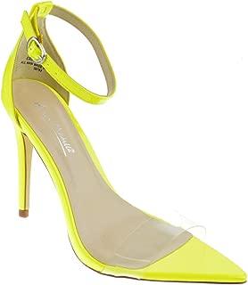 Exception 10 Womens Single Band Open Toe Platform Heeled Dress Sandals