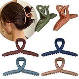Whaline Hair Claw Clip 6 Color H...
