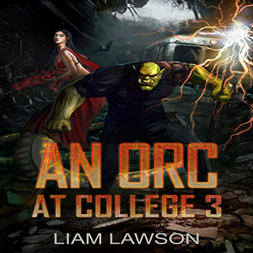 An Orc at College 3 audiobook cover art