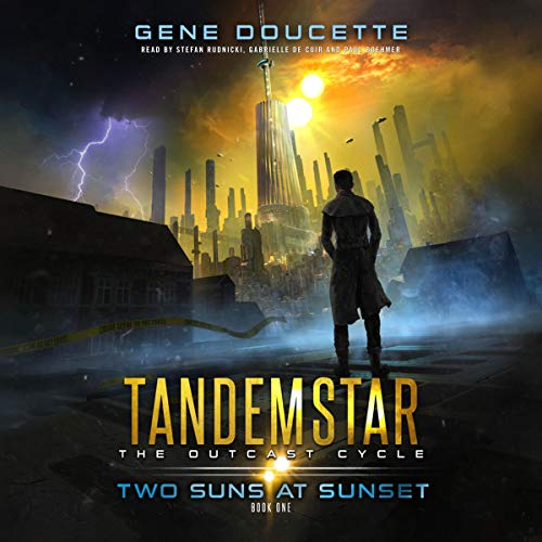 Two Suns at Sunset cover art