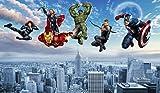 Carta Da Parati Avengers Foto Carta Da Parati Hd 3d Captain America Iron Man Hulk Thor Thor Hyundai Carta Da Parati Ragazzo Bar Ristorante Camera Da Letto Soggiorno Designer