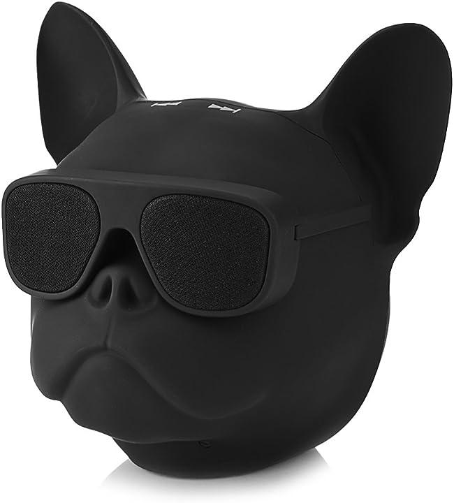 Altoparlante wireless bluetooth a forma di cane, lettore musicale portatile con suono stereo Zeronegodec2f6km