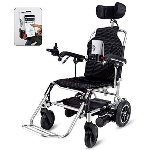 Leichte Faltbare Elektro-Rollstuhl, Dual-Motor, Schaltgetriebe Elektrischer Doppel-Purpose Rollstuhl, Nettogewicht 21Kg, Kann An Dem Flugzeug, 13AH Lithium-Batterie