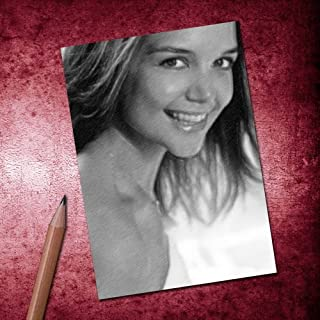 Katie Holmes - ACEO Sketch Card (Signed by The Artist) #js004