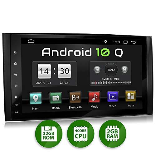 XOMAX XM-V11ZA Autoradio mit Android 10 passend für Mercedes, A-Klasse W169, B-Klasse W245, Vito, Viano, Sprinter W906 I 9 Zoll / 22,8 cm Touchscreen, GPS Navigation, Bluetooth, USB