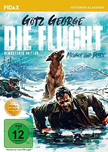 Die Flucht (Mensch und Bestie)- Remastered Edition / Mit dem PRÄDIKAT WERTVOLL ausgezeichnetes Kriegsdrama mit Starbesetzung (Pidax Historien-Klassiker)
