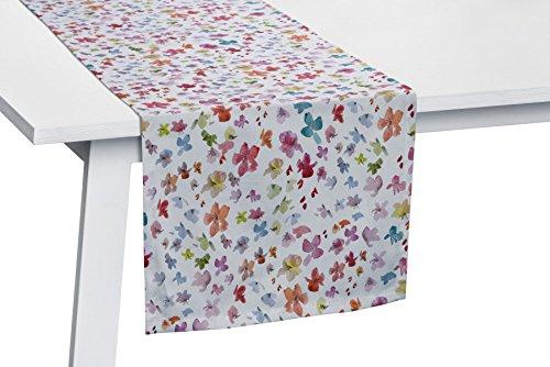 Pichler Sale Blumen Blüten/Blütenmeer Tischläufer ca. 50x150cm Multicolor