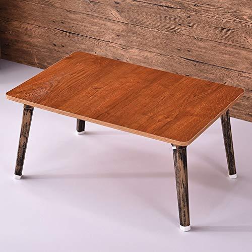 Wangczdz multifunctionele klaptafel, draagbare retro-leesbed, MDF voor outdoor, camping, picknick, barbecue, feestjes en catering