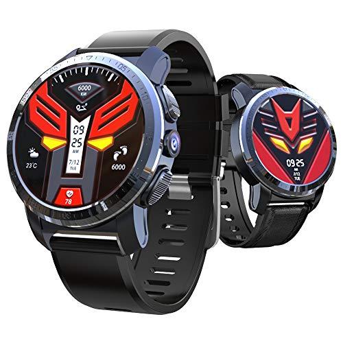 SUQIAOQIAO Kospet Optimus Duales System 4G Smart Watch 2 + 16G 800 Megapixel 1,39