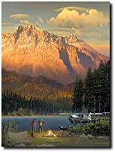 Planejunkie Fish Tales at Beaver Camp by William S. Phillips - De Havilland (DHC-2) Beaver