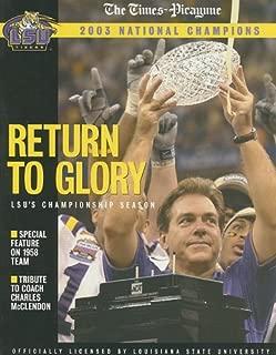 Return to Glory: LSU's Championship Season: 2003 national champions