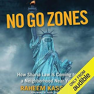 No Go Zones audiobook cover art