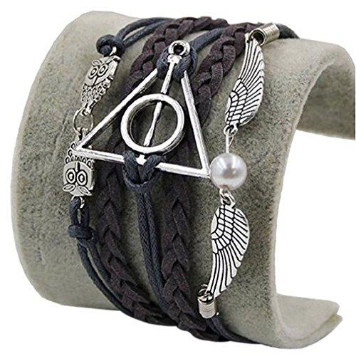 FabulousBOUTIK JKR Pulsera Harry Potter 3 1 colgantes