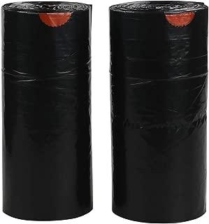 Teyyvn 6 Gallon Black Trash Bag, Drawstring, 220 Counts