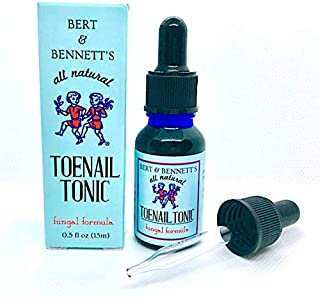 Toenail Tonic - Nail Fungus Treatment - All Natural Remedy, Clinically Tested Safe & Effective, RN Formulated 15 ml