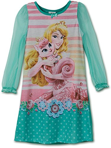 Disney Little Girls Aurora Palace Pets Gown Long Sleeve K157451PN 2T