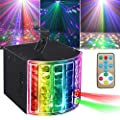 Party Lights Derby Lights Disco Ball Lights SUPERNAL Remote Control Sound Activated Auto Flash Mini Led Stage Projector Lights For Club Party Holiday Bar KTV Birthday Concert