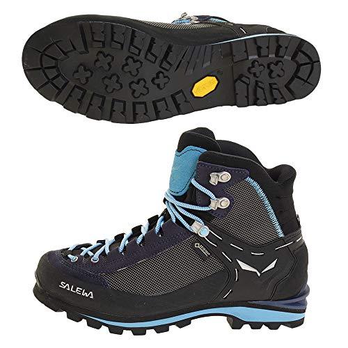 Salewa WS Crow Gore-TEX Scarponi da trekking e da escursionismo, Premium Navy Ethernal Blue, 40 EU