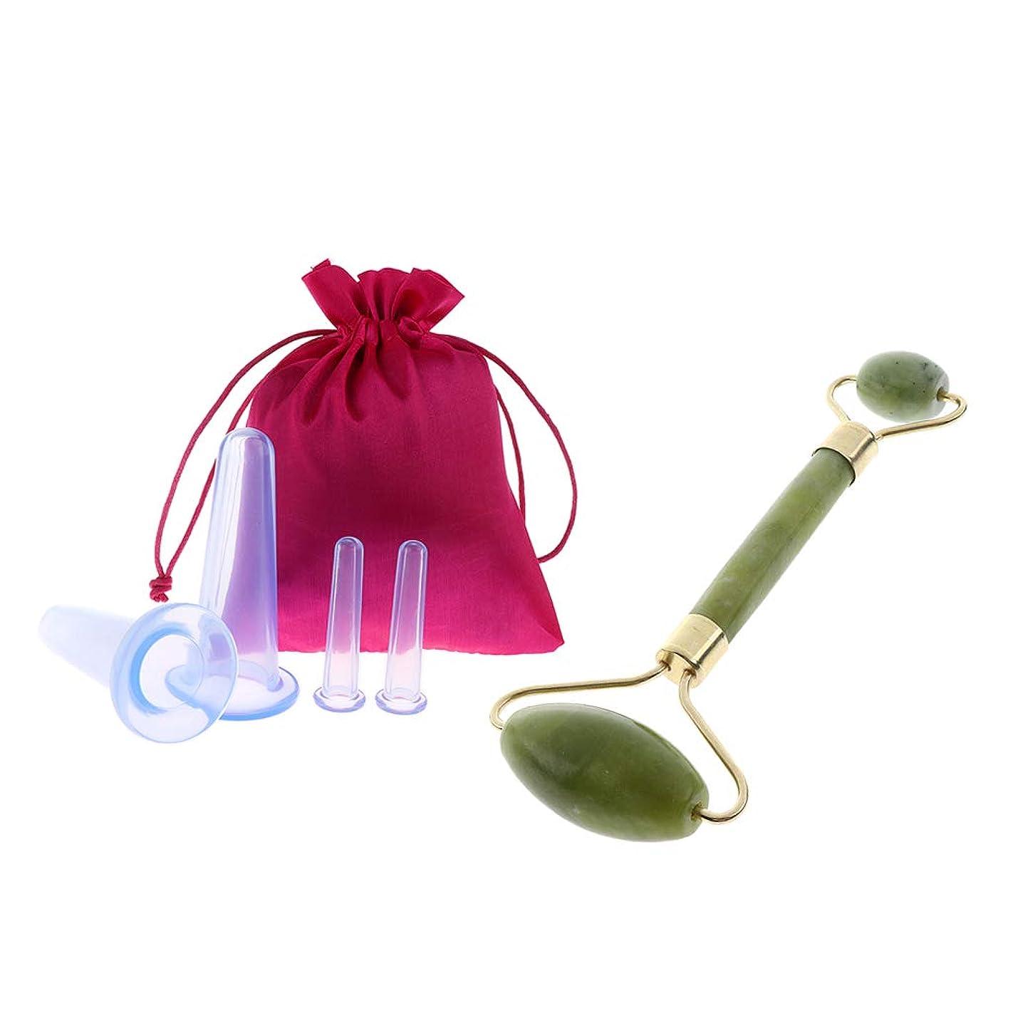 妻コーンウォール正統派美顔ローラー 携帯便利 小型美顔器 マッサージ ビューティーローラー 収納袋 シリコーン抗セルライト