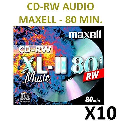 10 CD-RW AUDIO